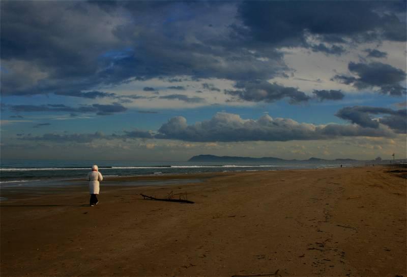 Mare d'inverno - Riccione