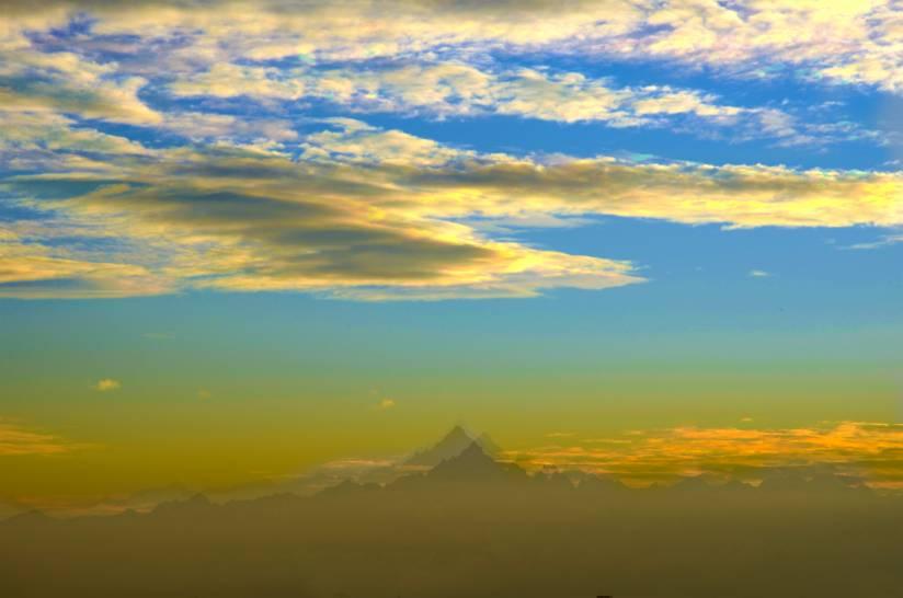 Il cielo sopra il Monviso
