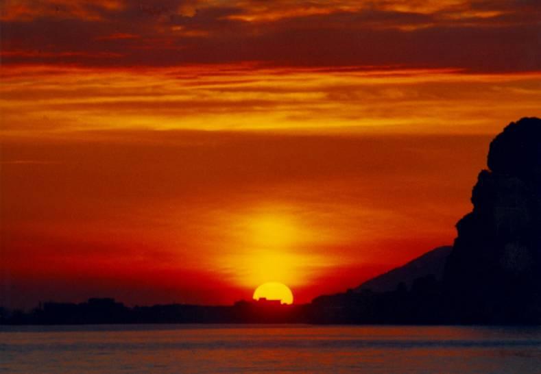 Pisco montano - tramonto