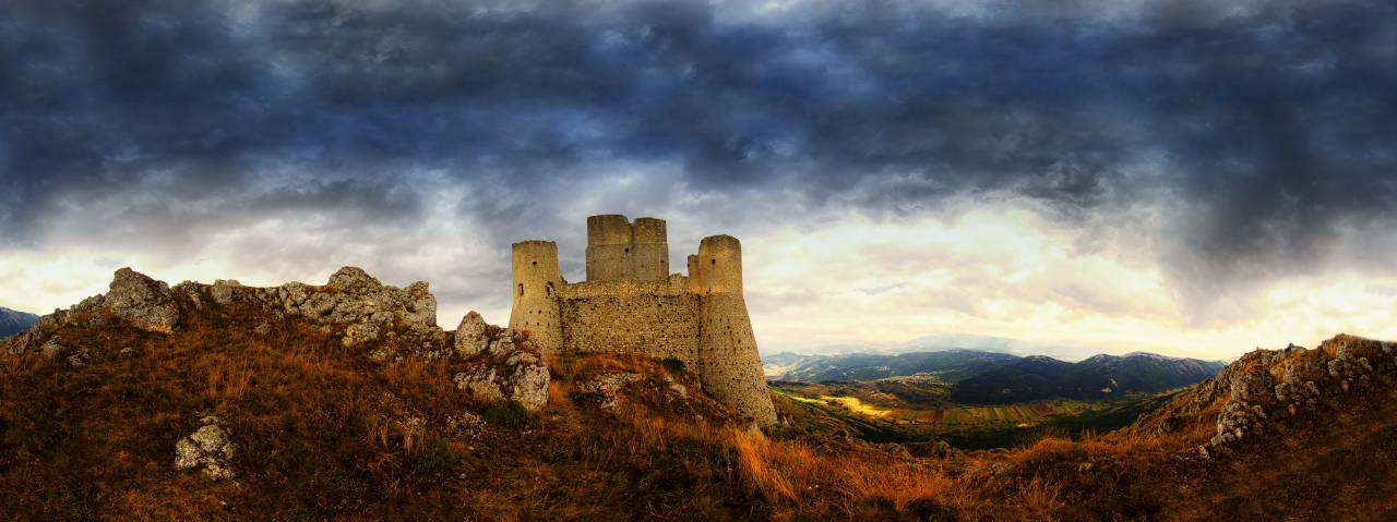Cielo su Rocca Calascio