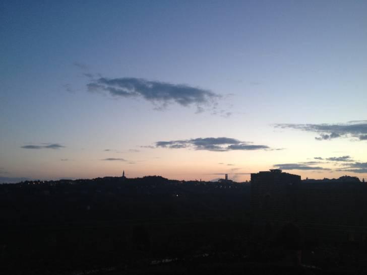 tramonto perugino