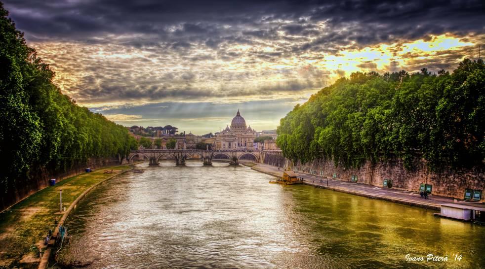 Cielo sopra San Pietro