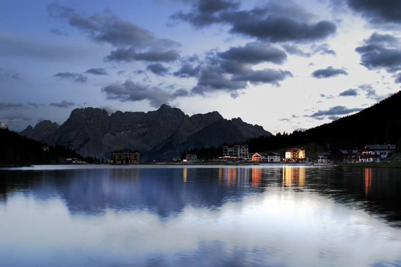 Lake Misurina and Sorapiss