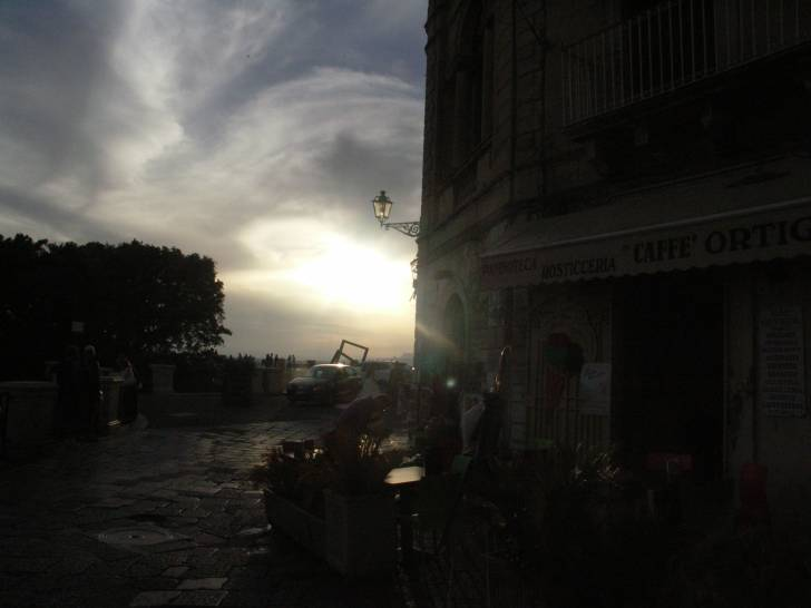 tramonto ad Ortigia