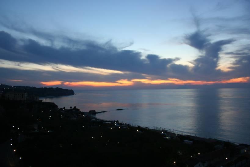 Un tramonto a Tropea