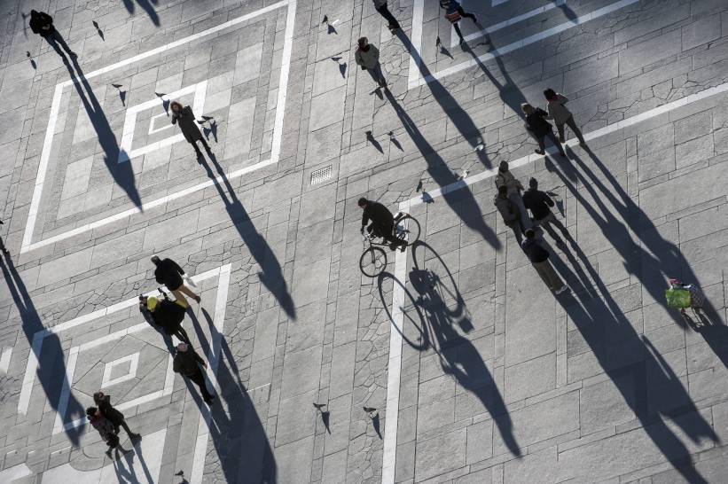 Una bici in Duomo