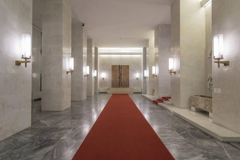 MAECI. Atrio d'onore. Foto: Giorgio Benni