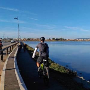 Un weekend di bicicletta e sole a Cagliari