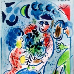In mostra a Torino le fiabe d'amore di Chagall