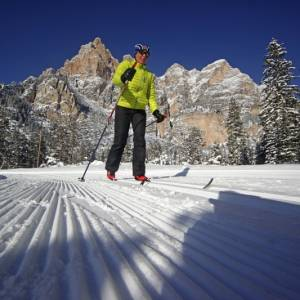 Le 10 piste di fondo più belle delle Dolomiti
