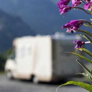 In camper in Liguria, lungo la Riviera di Ponente