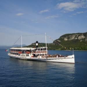 Itinerario in battello sul lago di Garda