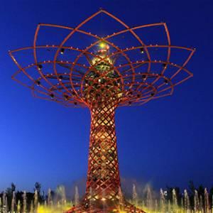 Expo 2016: si riaccende l'Albero della vita