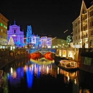 Slovenia in camper, Natale e Capodanno si festeggiano in libertà