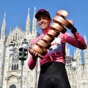 Il Giro del Touring. La vittoria di Tom Dumoulin a Milano. E cosa rimarrà del Giro d'Italia numero 100