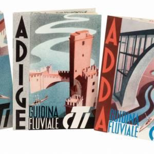 Tre guidine fluviali Tci del 1936: una rarità e una prestigiosa idea regalo