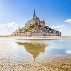 Itinerario in Normandia tra scogliere d'alabastro, i luoghi del D-day e Mont-Saint-Michel