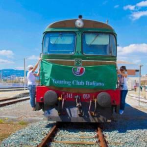 Con il Tci su un treno d'epoca per l'apertura del Carnevale di Montemarano