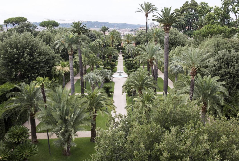 Quirinale l 39 orgoglio di essere volontari touring - I giardini del quirinale ...