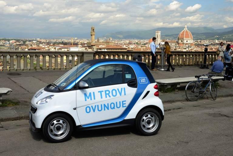 Car2Go a Firenze.