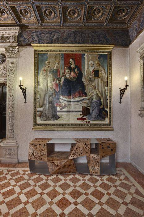 Milano, Museo Bagatti-Valsecchi, Sala Affresco: Riddle Horm di Steven Holl