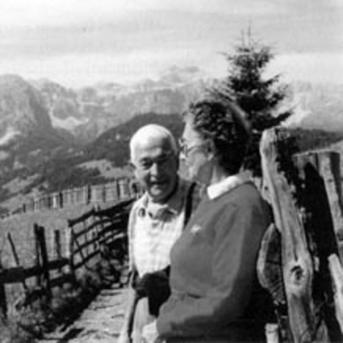 Paolo Videsott a Runc, in val Badia.