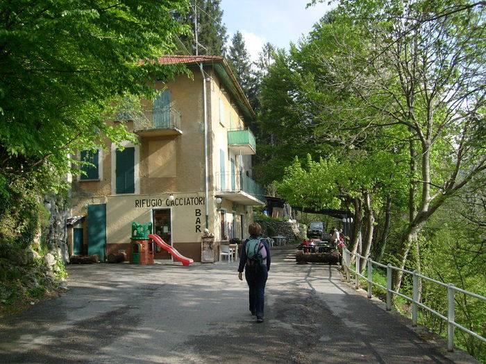 Il rifugio Cacciatori all'Alpe del Viceré