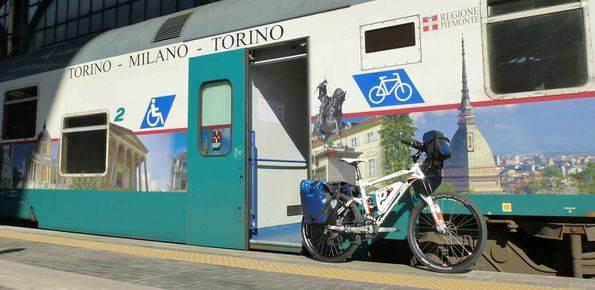 Vento Giorno 1 - Da Torino a Morano sul Po