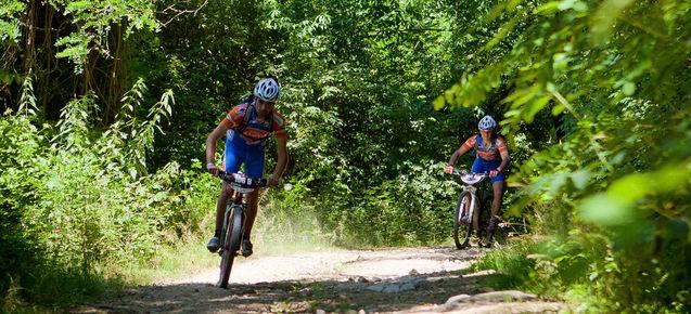 Sui monti liguri in mountain bike
