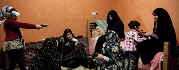 Viaggio nei salotti degli iraniani