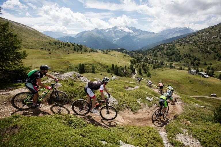 Un weekend di mountain bike in Alta Valtellina
