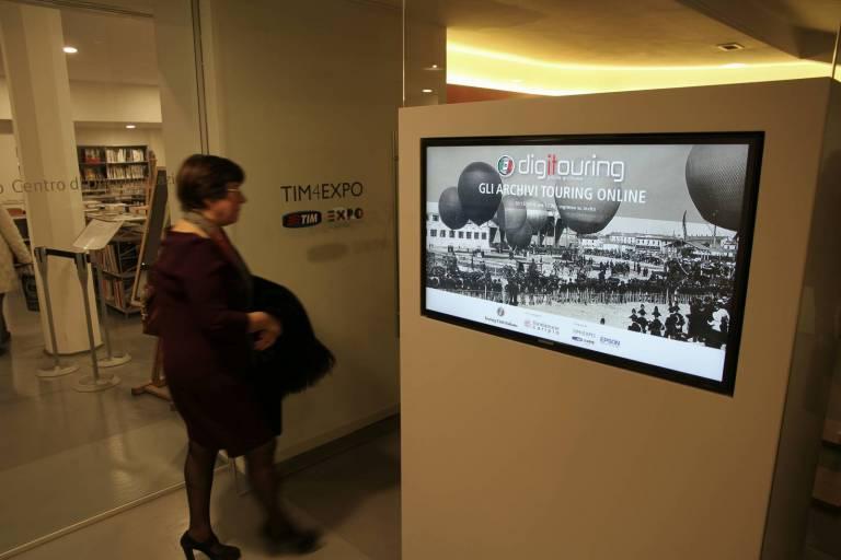 La presentazione di Digitouring alla Triennale di Milano