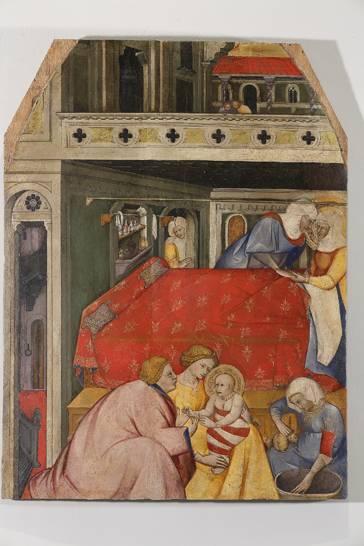 Cennino Cennini, Natività della Vergine, fine XIV inizi XV secolo, collocazione Museo Diocesano