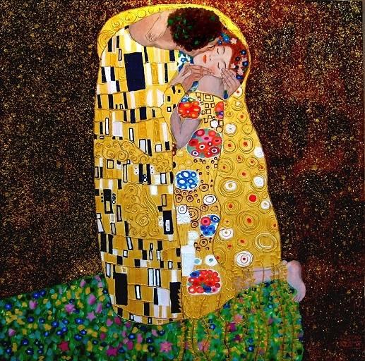 Klimt_Il bacio
