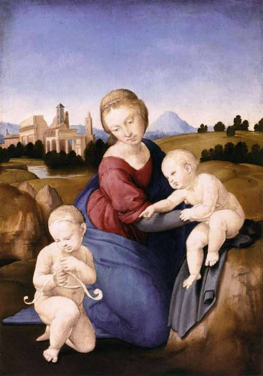 Raffaello Sanzio, Madonna Esterhazy