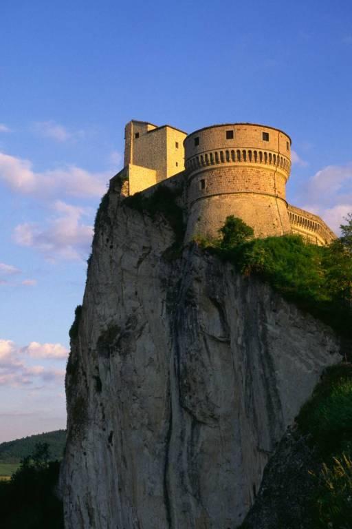 La fortezza di San Leo.