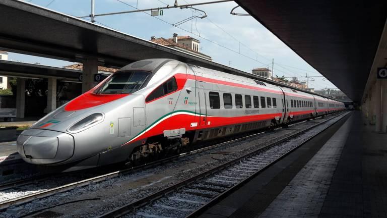 Un convoglio ETR610 di Trenitalia.