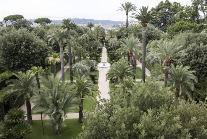 Scopri il quirinale con i volontari tci i giardini presidenziali - I giardini del quirinale ...