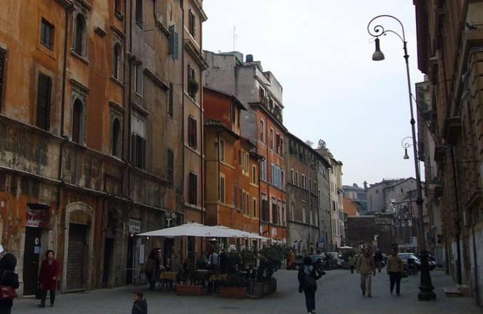 Roma alla scoperta del ghetto for Disegni del portico laterale