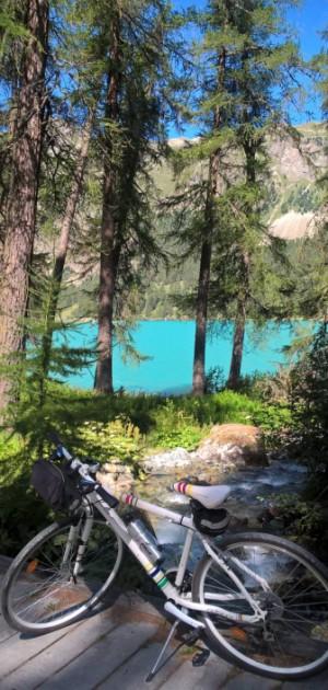 Weekend in bicicletta da St. Moritz al lago di Como