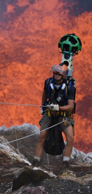 Le spettacolari foto di Google in un vulcano dell'Oceania
