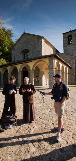 Su La Via di Francesco, in Umbria, insieme a nove giornalisti stranieri