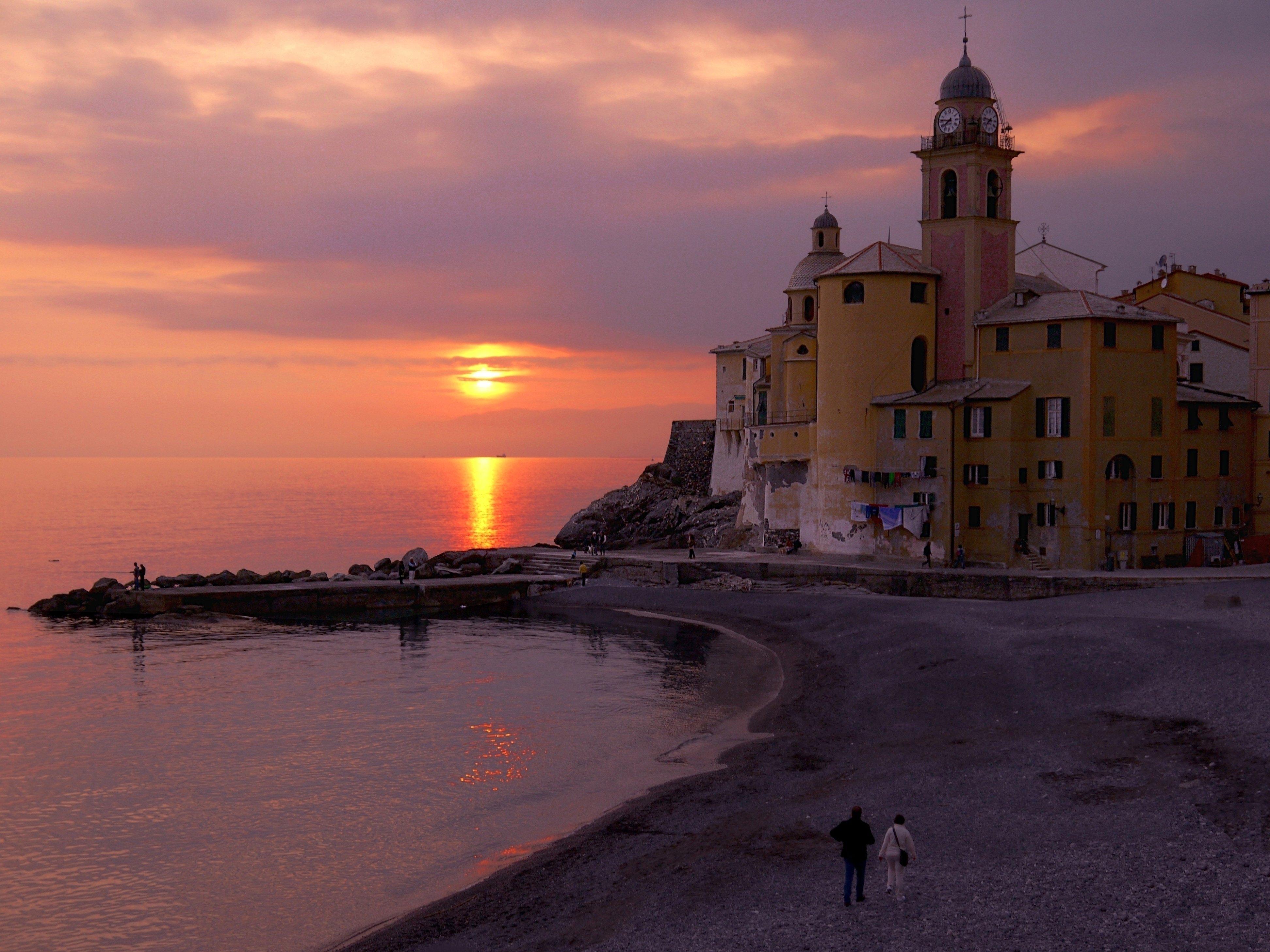 Un momento indimenticabile a Camogli - Concorso fotografico: Concorso fotografico Cieli d'Italia
