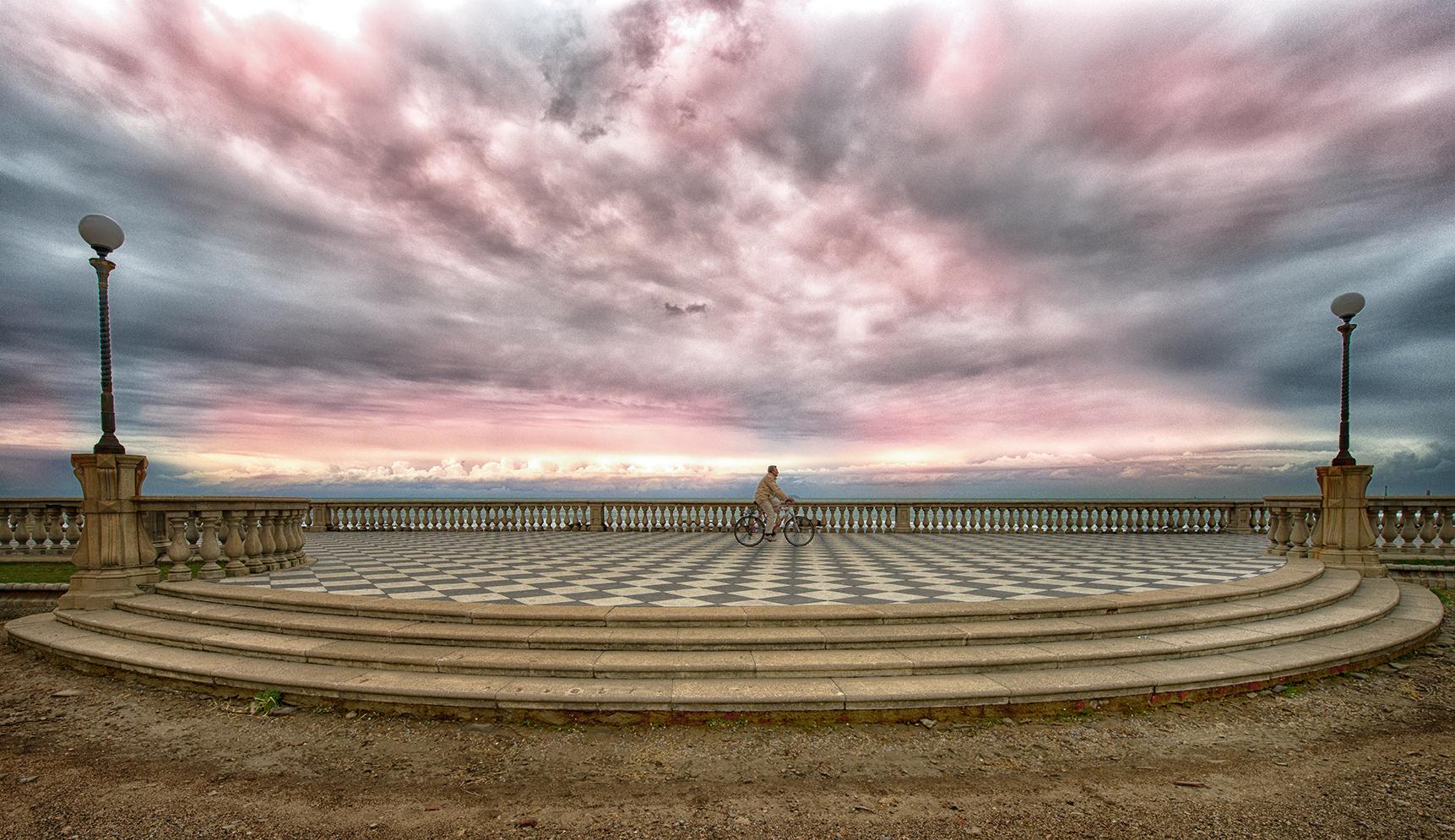 Terrazza Mascagni Livorno - Concorso fotografico: Italia in bicicletta