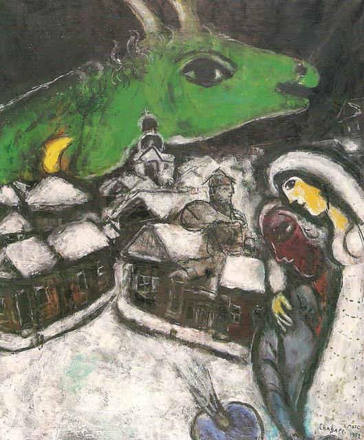 Risultati immagini per notte verde chagall