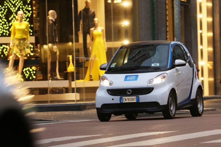 Car2Go a Milano.