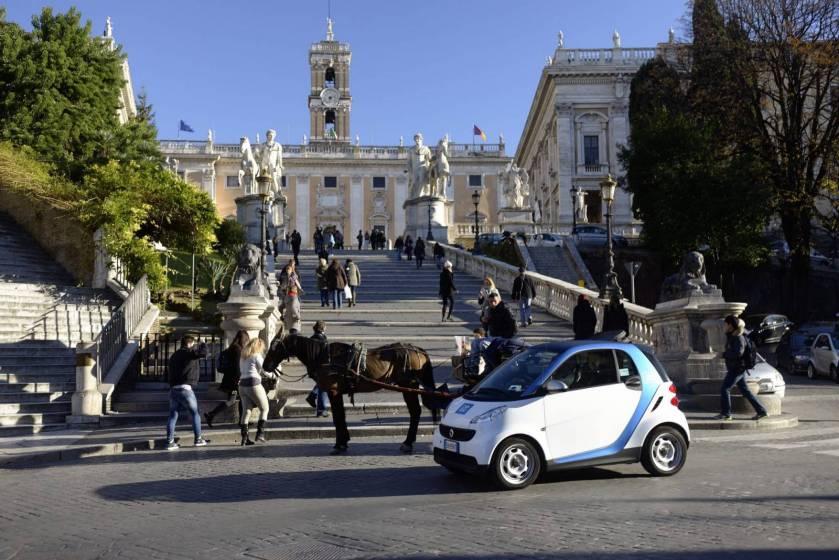 Car2Go a Roma.