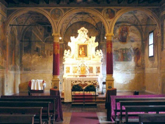 Padova, la Scoletta del Carmine.