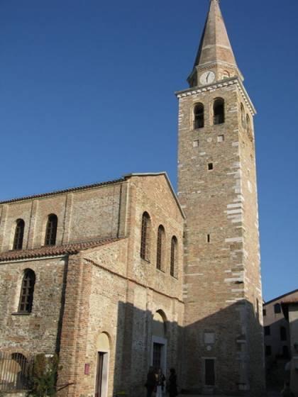 Grado, la basilica di S. Eufemia.