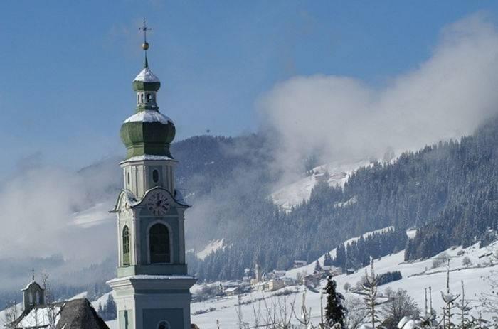 Scorcio invernale di Dobbiaco.